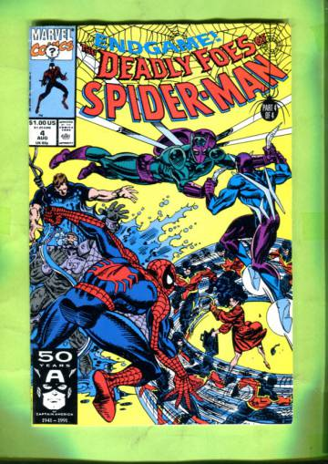 Deadly Foes of Spider-Man Vol 1 #4 Aug 91