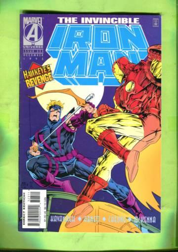 Iron Man Vol 1 #323 Dec 95
