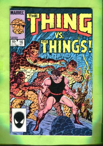 The Thing Vol 1 #16 Oct 84