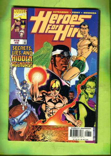 Heroes for Hire Vol 1 #8 Feb 98