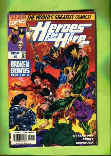 Heroes for Hire Vol 1 #5 Nov 97