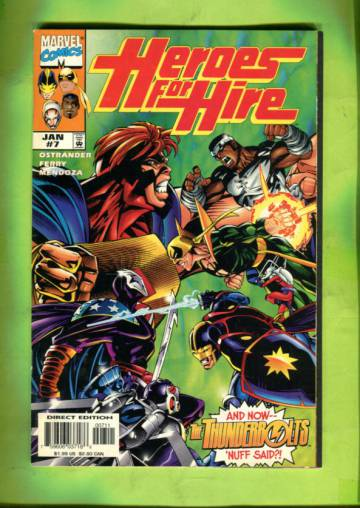 Heroes for Hire Vol 1 #7 Jan 98
