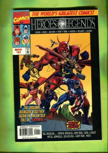 Marvel Heroes & Legends Vol 1 #1 Oct 97