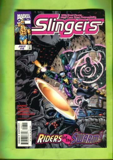 Slingers Vol 1 #8 Jul 99