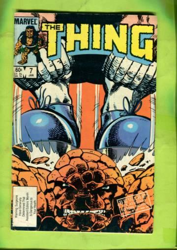 The Thing Vol 1 #7 Jan 84