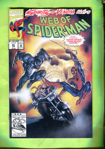 Web of Spider-Man Vol 1 #96 Jan 93