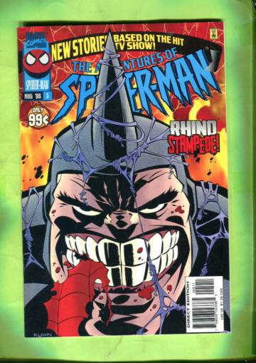 The Adventures of Spider-Man Vol 1 #5 Aug 96
