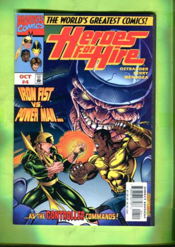 Heroes for Hire Vol 1 #4 Oct 97