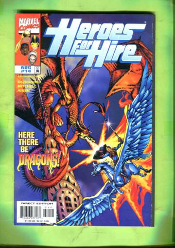 Heroes for Hire Vol 1 #14 Aug 98