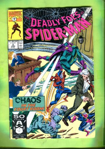 Deadly Foes of Spider-Man Vol 1 #2 Jun 91