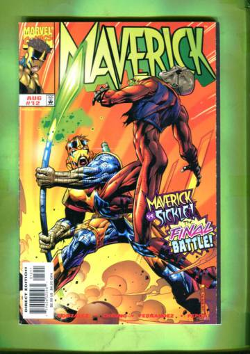 Maverick Vol 1 #12 Aug 98