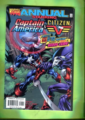 Captain America / Citizen V Annual 98