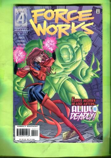 Force Works Vol 1 #20 Feb 96