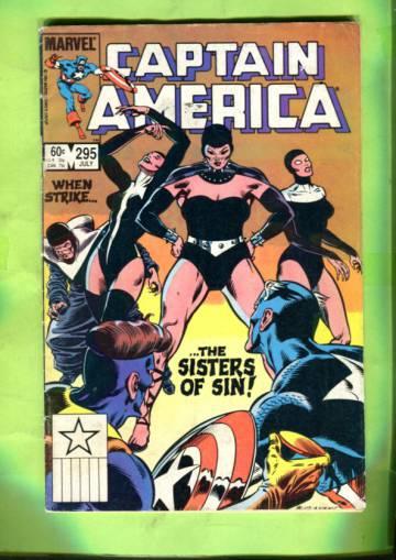 Captain America Vol 1 #295 Jul 84