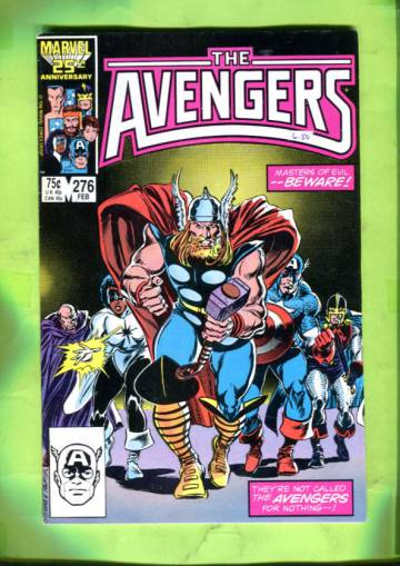 The Avengers Vol 1 #276 Feb 87