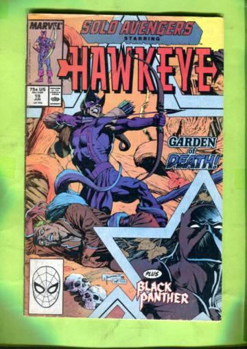 Solo Avengers  Vol 1 #19 Jun 89
