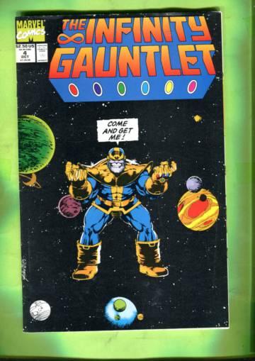 The Infinity Gauntlet Vol 1 #4 Oct 91