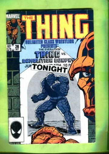 The Thing Vol 1 #28 Oct 85