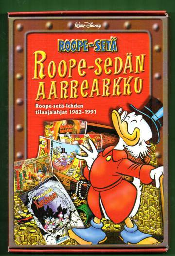 Roope-sedän aarrearkku - Roope-setä-lehden tilaajalahjat 1982-1991