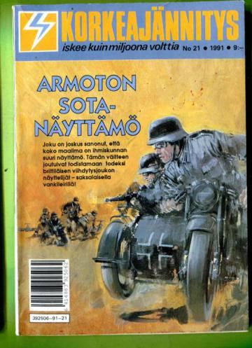 Korkeajännitys 21/91 - Armoton sotanäyttämö