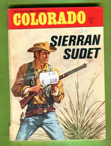 Colorado 2/71 - Sierran sudet