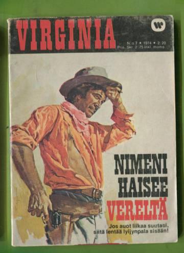 Virginia 7/74 - Nimeni haisee vereltä