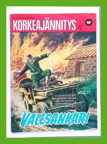 Korkeajännitys 13/74 - Valesankari