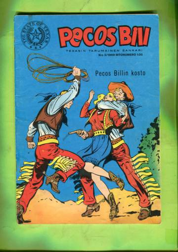 Pecos Bill 3/69 - Pecos Billin kosto