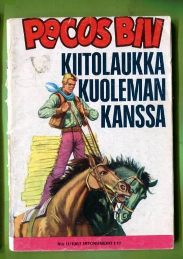 Pecos Bill 11/67 - Kiitolaukka kuoleman kanssa