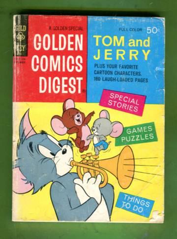 Golden Comics Digest #25 Sep 72