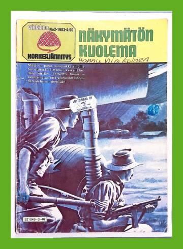 Viidakon Korkeajännitys 2/83 - Näkymätön kuolema