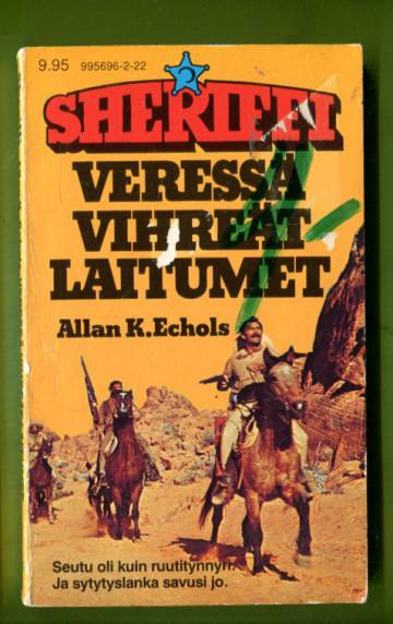 Sheriffi 122 - Veressä vihreät laitumet