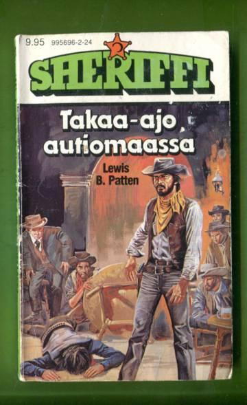 Sheriffi 124 - Takaa-ajo autiomaassa