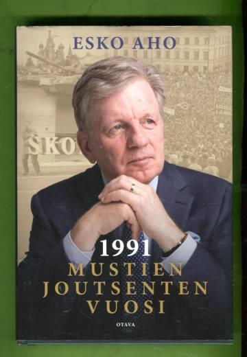1991 - Mustien joutsenten vuosi