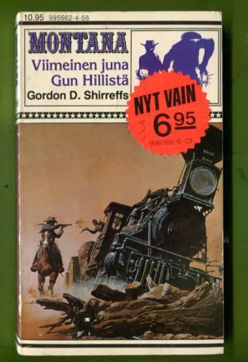 Montana 158 - Viimeinen juna Gun Hillistä