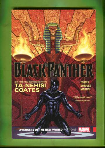Black Panther Book 4: Avengers of the New World Part 1