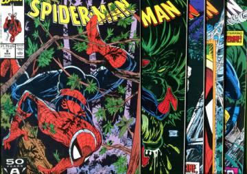 Spider-Man Vol 1 #8-12: Perceptions #1-5 Mar-Jul 91 (Whole miniserie)