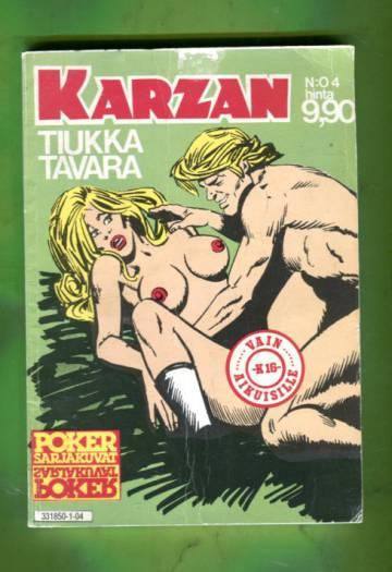 Karzan 4/81 - Tiukka tavara
