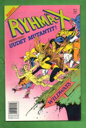 Ryhmä-X 4/90 (X-Men)