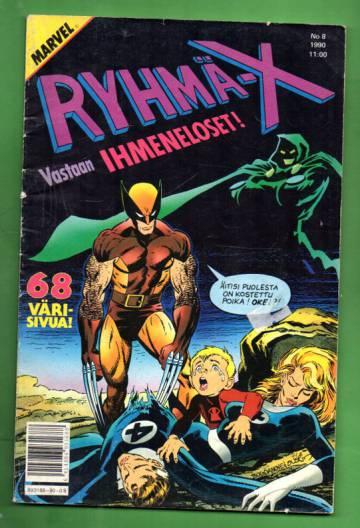 Ryhmä-X 8/90 (X-Men)