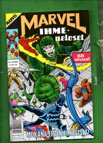 Marvel 4/90 - Ihmeneloset