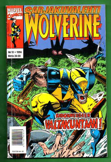 Sarjakuvalehti 10/94 - Wolverine