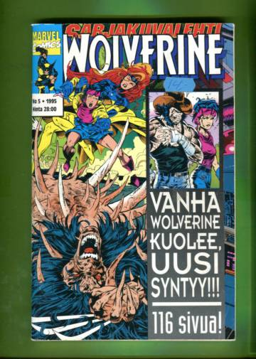 Sarjakuvalehti 5/95 - Wolverine
