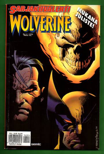 Sarjakuvalehti 6/96 - Wolverine