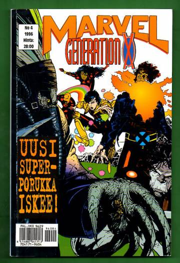 Marvel 4/96 - Generation X