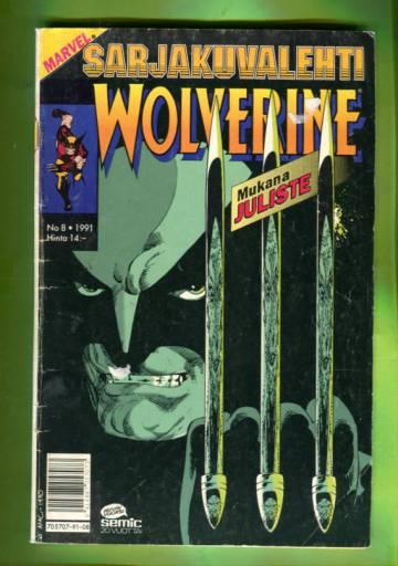Sarjakuvalehti 8/91 - Wolverine