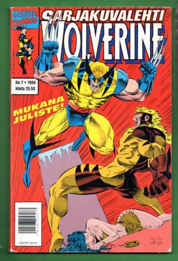 Sarjakuvalehti 7/94 - Wolverine