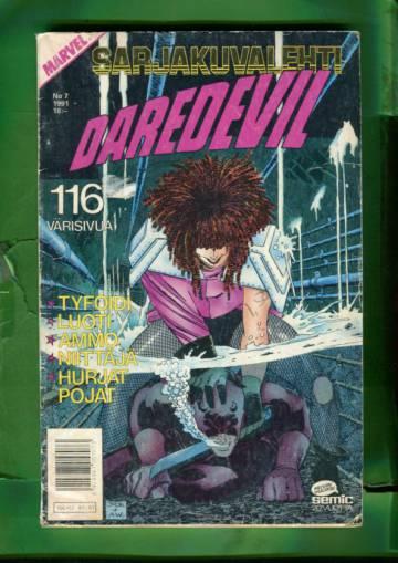 Sarjakuvalehti 7/91 - Daredevil