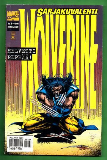Sarjakuvalehti 8/95 - Wolverine