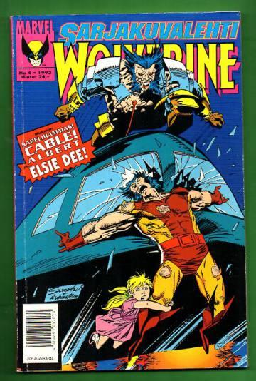 Sarjakuvalehti 4/93 - Wolverine